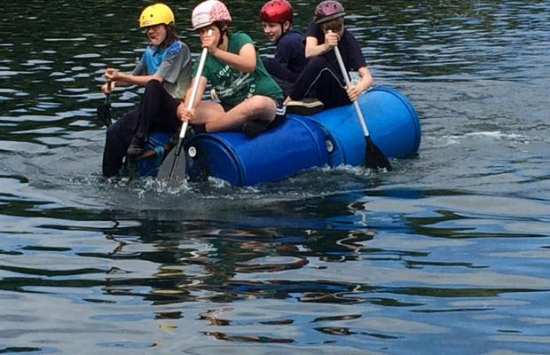 Scouts & Explorers will have the challenge of building a raft, then racing it against other teams! Who will be the fastest?