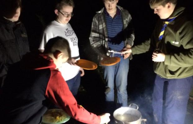 Stingray Explorers Cooking Oudoors