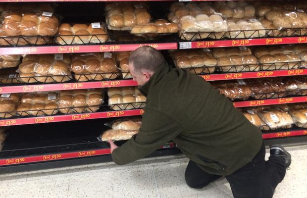 Counting the Bread for camp