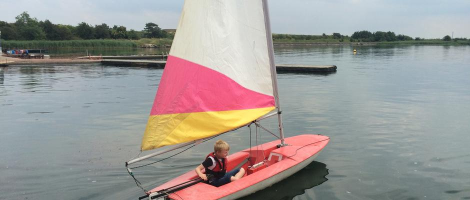 Sailing at Welton Waters